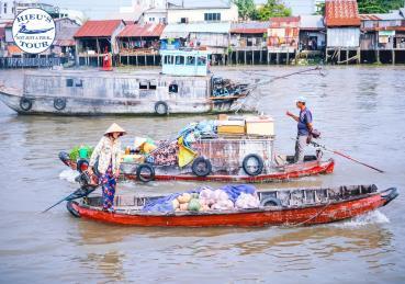 Cái Răng - Chợ Nổi Văn Hoá Sông Nước
